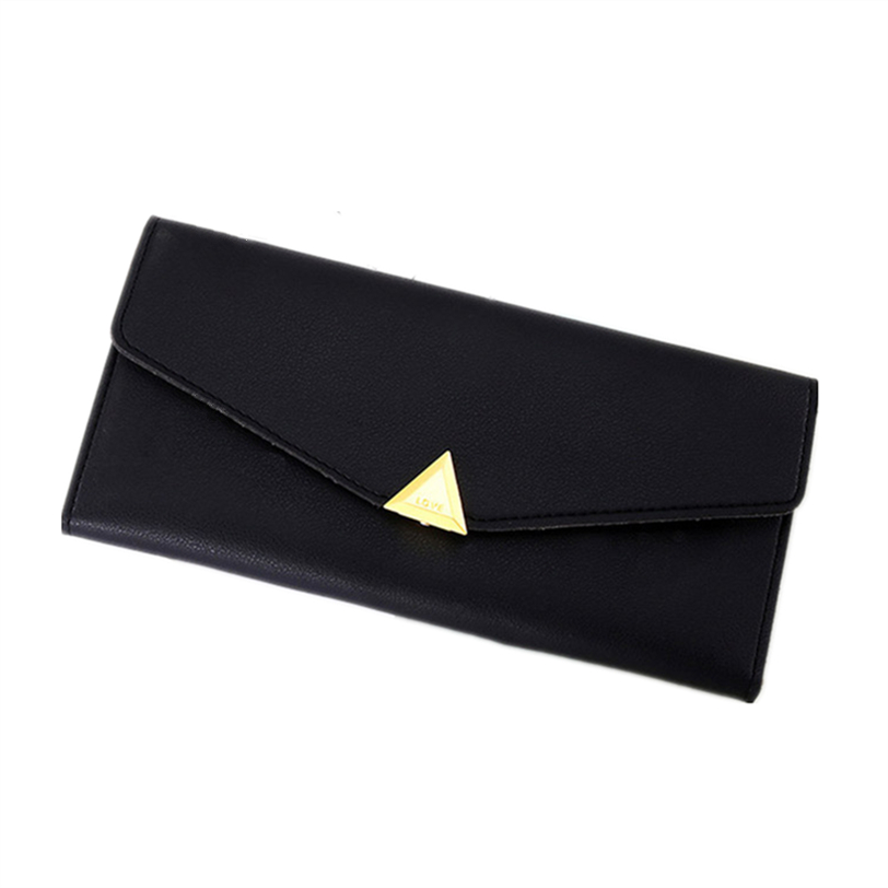 Elegent Slim PU Leather Hasp Long Clutch Evening Handbag Women Coin Money Bag Female Card Wallet Girls Purses Wholesale 30JY27 casual weaving design card holder handbag hasp wallet for women