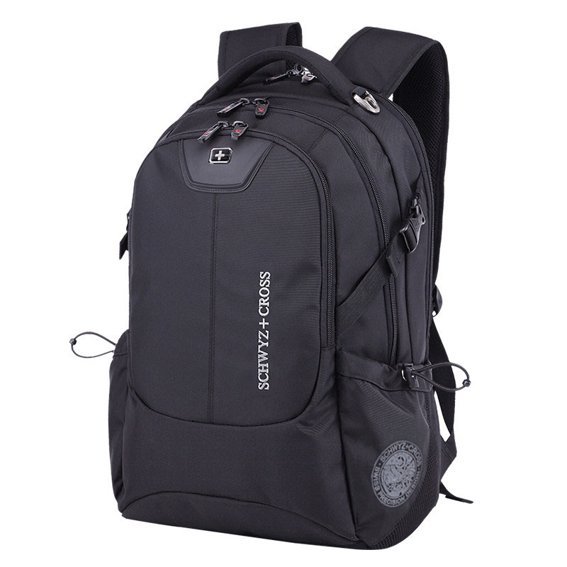 Famous Brand Fashion Laptop Backpack Women Men Large Capacity High Qualtiy Travel Bag Multi Pockets Practical School Bag in Backpacks from Luggage Bags