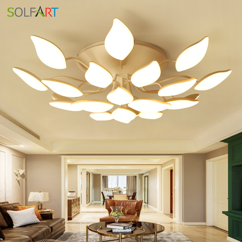 LED Ceiling Light Abajur Lustre Sconce Luminaria Chandelier Ceiling Avize Light Fixtures Lamp