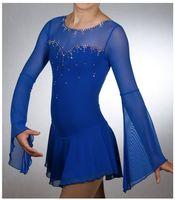 Дети Катание на коньках Платья для женщин Изящные новый бренд Фигурное катание Платья для женщин для конкурса dr4173