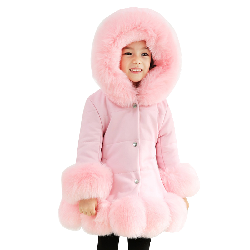 2019 spring thick warm little girls clothing 3 - 14 yrs baby girls vintage noble long coat artificial fur collar school outfits2019 spring thick warm little girls clothing 3 - 14 yrs baby girls vintage noble long coat artificial fur collar school outfits