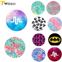 Fashion Cute Round POP Phone Holder for Iphone 7 6 5S se phone Support Mobile Phone Stand For samsung s8 xiaomi Huawei P8 Lite