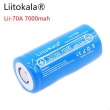 100%  LiitoKala 3.2V 32700 6500mAh LiFePO4 Battery 35A Continuous Discharge Maximum 55A High power battery