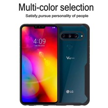 Hybrid Airbag ShockProof Clear Case for LG V40 ThinQ Protective Hard PC+Soft TPU Cover thin Q++