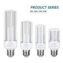 Led E27 E14 Corn Lamp AC 110V 220 Led Bulb 5W 10W 15W 20W Spotlight Living Room Decoration Light SMD2835 Warm/White Leds Ampul