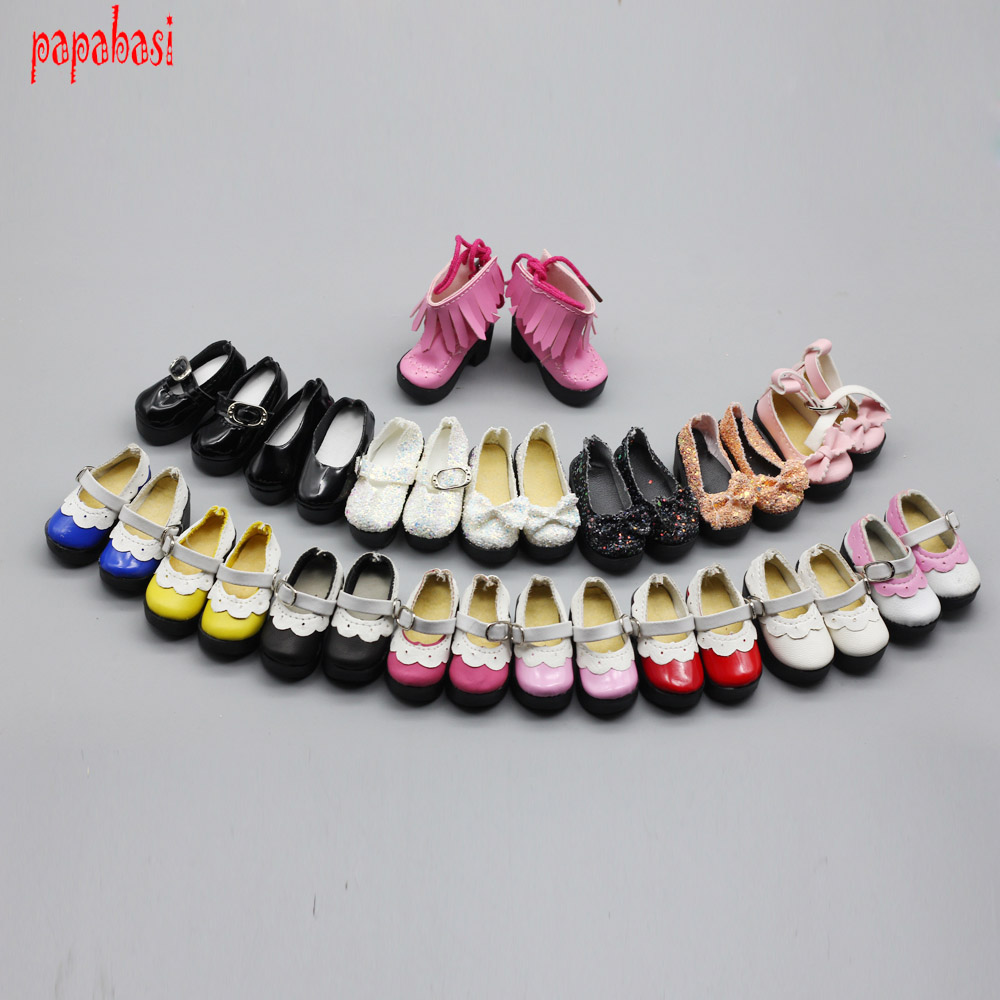 Fashion different styles Summer Sandals for 1/4 BJD mini shoes for Blyth Dolls Toy Accessories