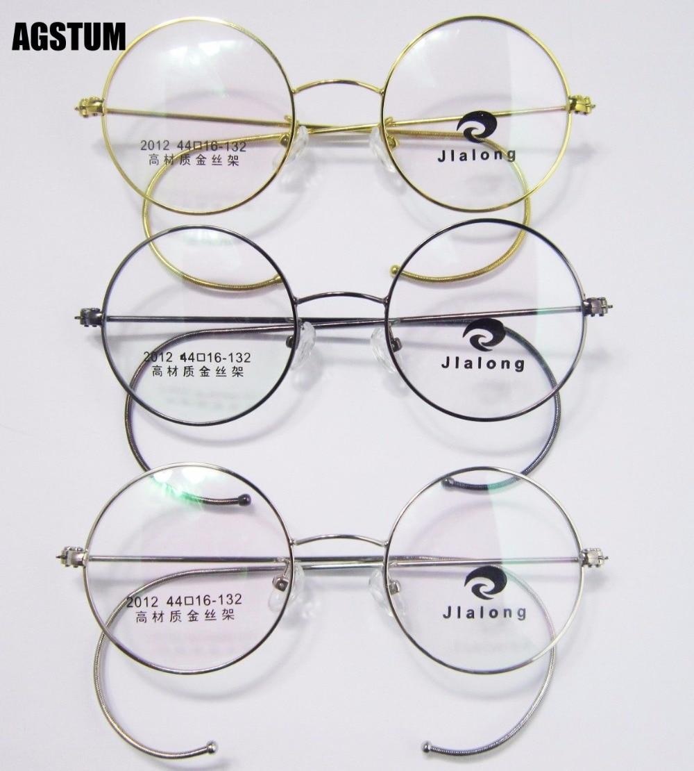 2f167fe4015 40mm 42mm 44mm Antique Vintage Round Wire Rim Eyeglass Frames Spectacles Rx  2012