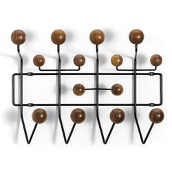 Multi-color Творческий твердая древесина грецкого ореха мяч вешалка Украшение стены hat стойку крючок ремесел мебель для гостиной