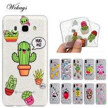 Coque For Samsung Galaxy S6 S7 Edge S8 Plus Note 8 J3 J5 J7 2016 A3 A5 2017 Grand Prime G530 Case TPU Silicon Cover Owl Fundas