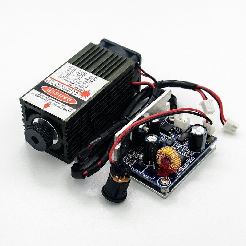 450 nm, 2500 mW 12 V suure võimsusega lasermoodulil on TTL, - Puidutöötlemismasinate varuosad - Foto 4