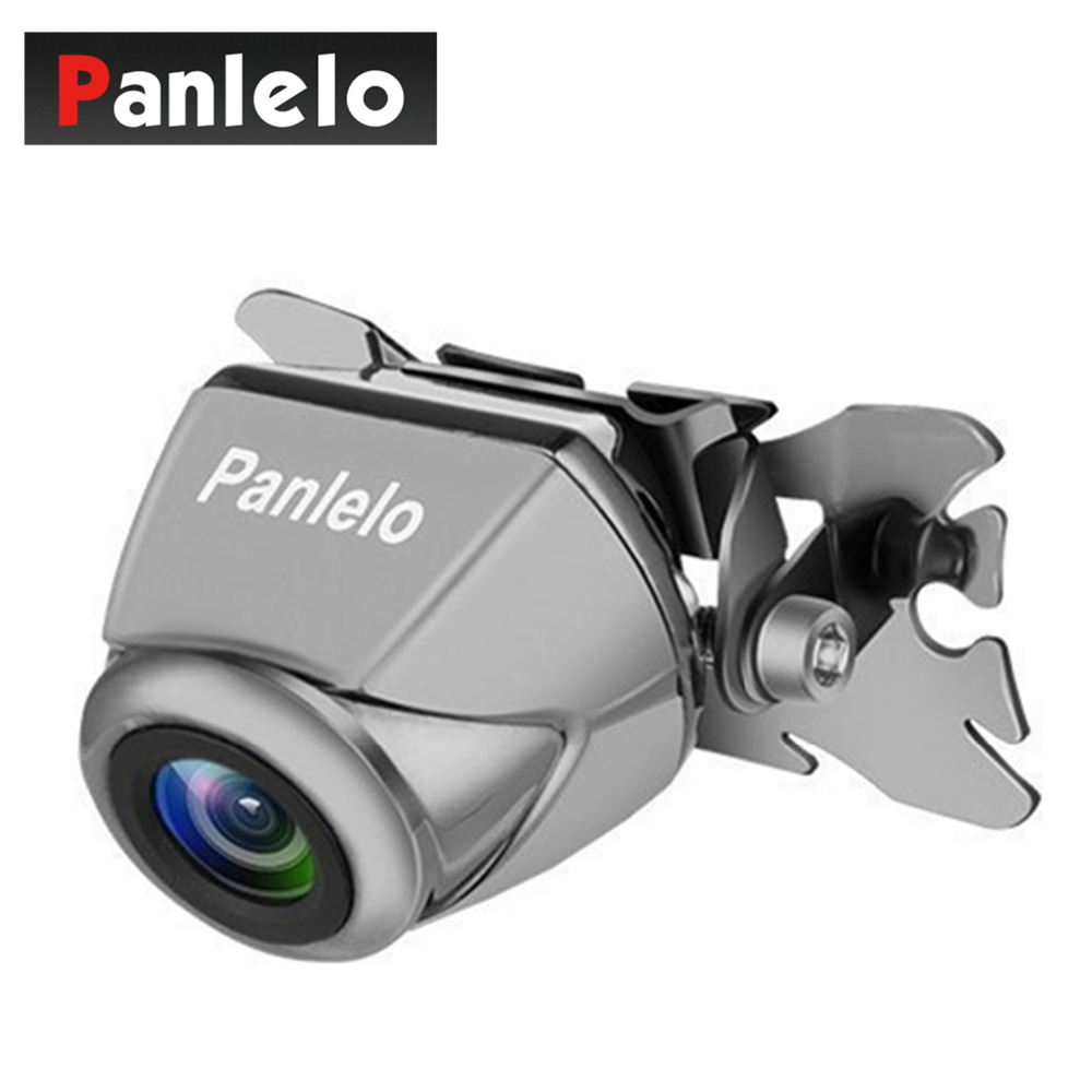 Panlelo Universal Water Resistant Rear View Car Camera 720P Full HD 170 Degree Wide Angle Car Video Backup Night Vision Camera