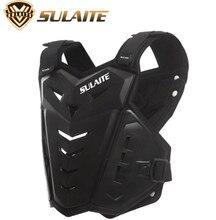 цена на SULAITE Motorcycle Motorcycle Vest Motocross Moto Vest Men Women Back Chest Protector Guards Body Protective Gear