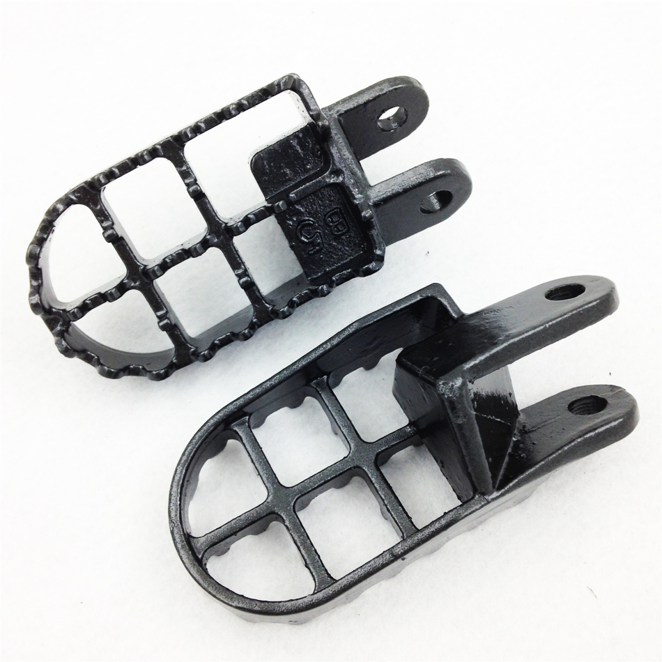 Aftermarket Motorcycle Parts GRAY Motocross MX Foot Pegs For Honda CR80R CR85R XR250R XR400R XR600R XR650R GRAY