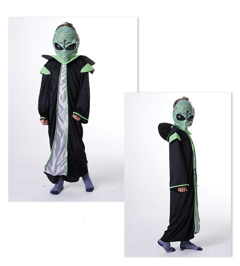 Extraterrestrial Cosplay Costume Full Set Halloween Stage New Fashion Costume Gift Drop Ship