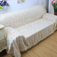 European style sofa cover sofa towel all inclusive four seasons living room non slip cloth leather sofa cover custom made accept