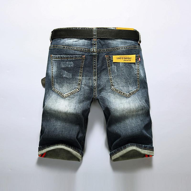 Trou Trimestre 5 L'homme Mode D'été Pour Locomotive Points Jeune Un Shorts 2018 Jeans De Hommes S'asseoir HvUqUw4