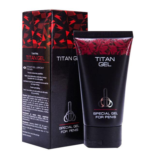 Original Titan Gel Big Penis Male Enhancement Increase Enlargement pills male Sex Time Delay erection Cream Adult Sex Product