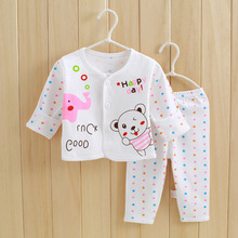 Newborn Baby Boys Clothes Set 2017 Autumn Baby Girls Clothes T-shirt+Pants 2pcs Baby Set Outfits Suit Infant Clothing Sets newborn infant baby boys girls clothes set t shirt tops short sleeve pants cute outfits clothing baby boy