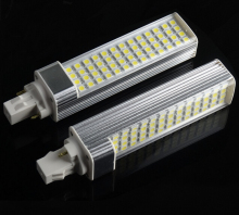 Free Shipping Super G24 13W LED light ,led lamps bulbs,SMD5050,52LED AC85-265V 10pcs/lot