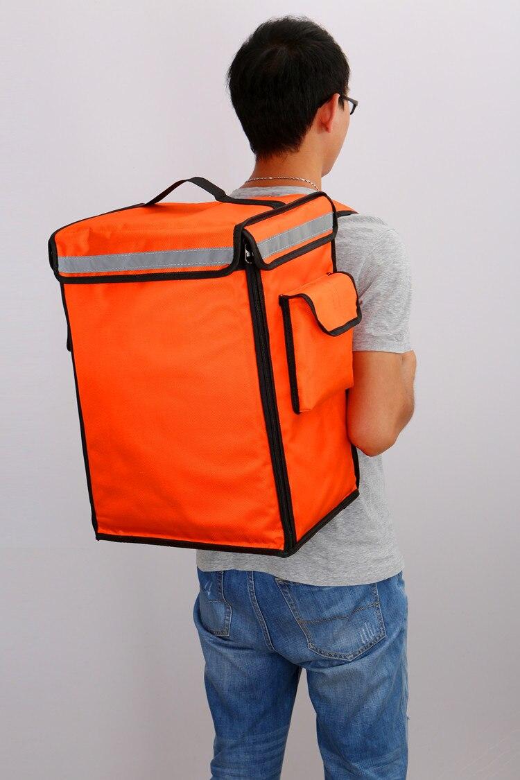 58/42L grand sac à dos à emporter isolation livraison paquet pizza sac alimentaire réfrigérateur congélateur étanche boîte à lunch/sacs sac de glace