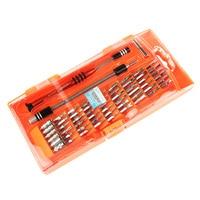 JM-8126 58 In 1 Magnetische Schroevendraaier Bit Socket Set Voor Mobiele Telefoon Pc Tablet Elektronica Reparatie Tools Kit