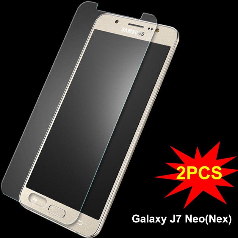 2969d5a5b SFor Samsung Galaxy J7 Neo Vidro Ultra Fina Película Protetora HD Protetor  de tela para Samsung J7 Neo Neo Vidro Temperado para J7 ^