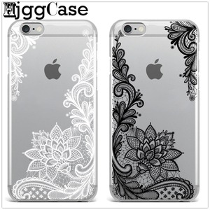 latest luxury Black white red Lace flower soft Silicon Phone Case for iPhone 6 5 5S SE 6S 6Plus 6SPlus 7Plus 8 8Plus X(China)