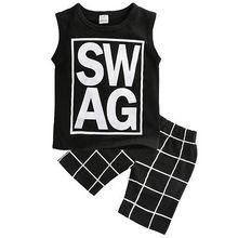2Pcs Summer Clothing Set For Kids
