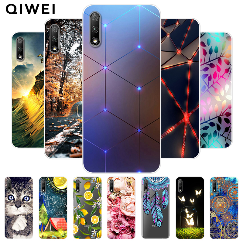 For Huawei Y9S Case 6.59'' Cute Fashion Silicon Soft TPU Back Cover For Huawei Y9s 2019 Case Y 9s Phone Cases For HuaweiY9s y9 s