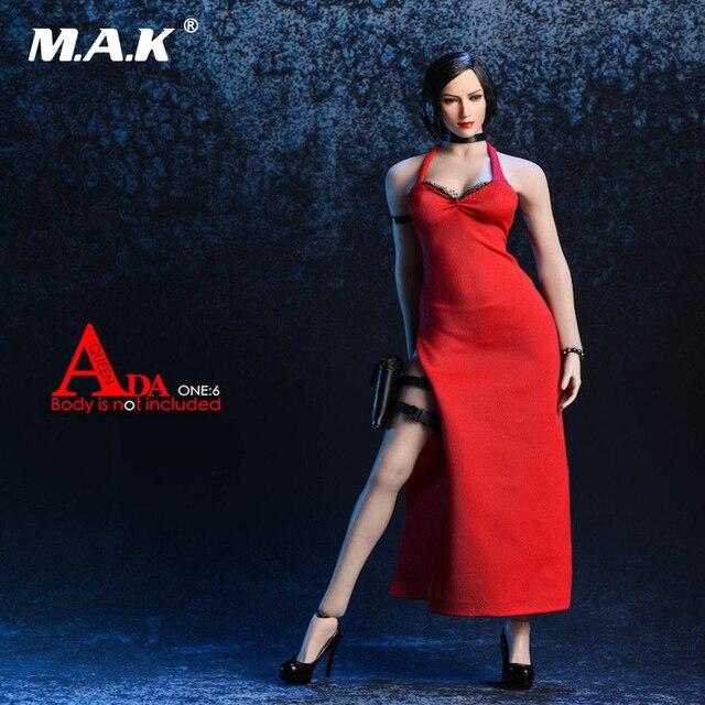 d4eea6a4 Conjunto de accesorios para vestido de noche negro/rojo, ropa de Solider  para mujer
