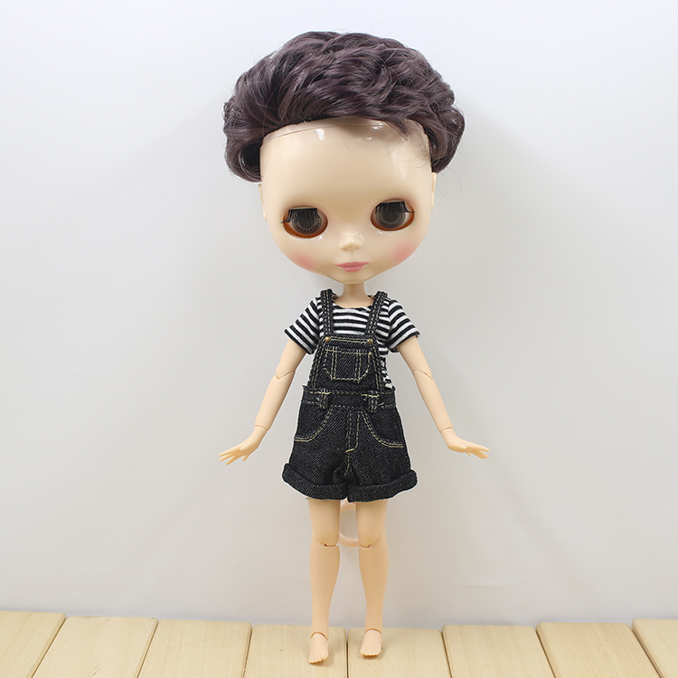 New arrived nude blyth doll with male joint body cute blyth dolls for girls gifts Free shipping free shipping bjd joint rbl 219j diy nude blyth doll birthday gift for girl 4 colour big eyes dolls with beautiful hair cute toy