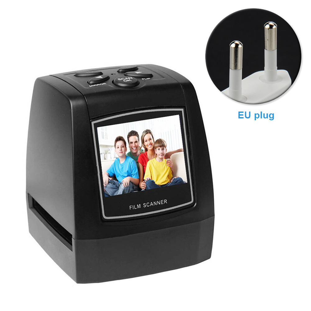 Lantern Slide JPEG Film Scanner Quick Photographic Plate Converter High Resolution LCD Display Home Office Card