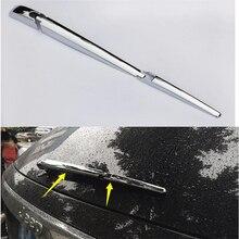 цены For Jeep Grand Cherokee 2014 Chrome Rear Window Wiper Cover Trims