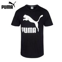 Original New Arrival 2017 PUMA LOGO Men S T Shirts Short Sleeve Sportswear