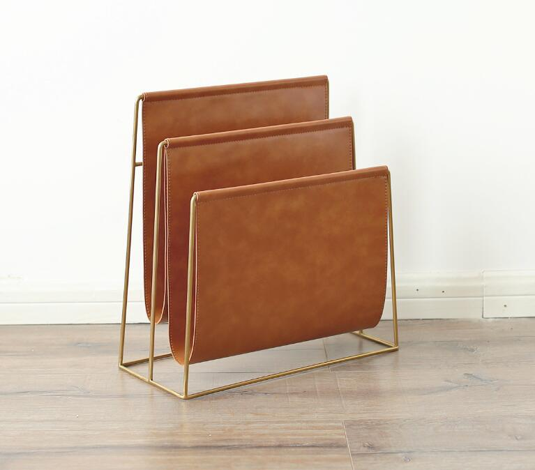 Magazine Rack Nordic Creative Bookshelf