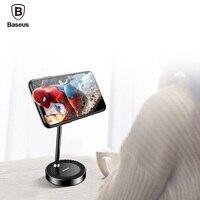 Baseus Magnetic Phone Holder For IPhone Xiaomi Tablet Desktop Stand 360 Mobile Phone Grip For Desk