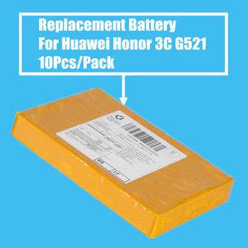 New Arrival 10PCS/PACK 2000mah Replacement Battery for Huawei Honor 3C Ascend G521 G625 G615 C8816D C8817E High Quality
