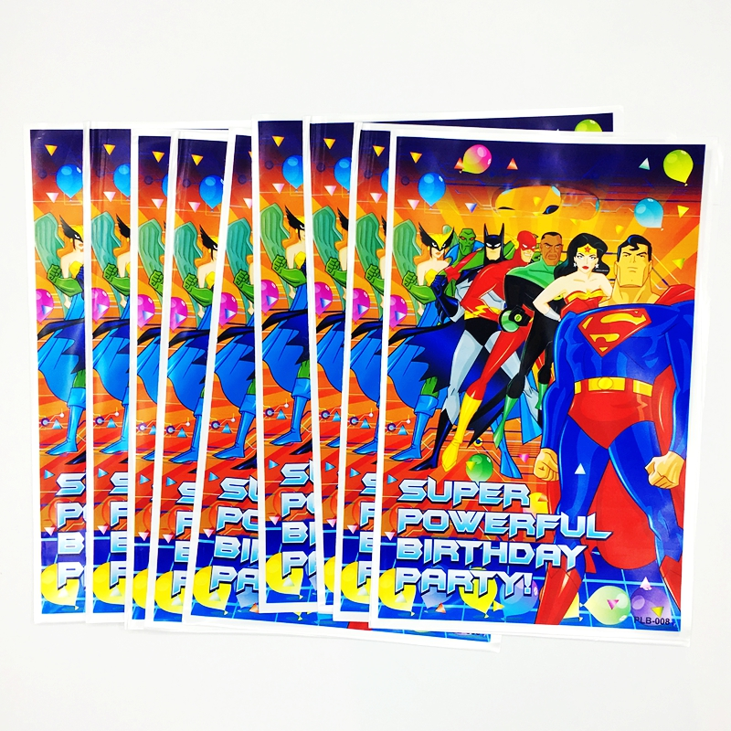 SUPERMAN PLASTIC TABLE COVER ~ Birthday Party Supplies Cloth Decoration Blue DC