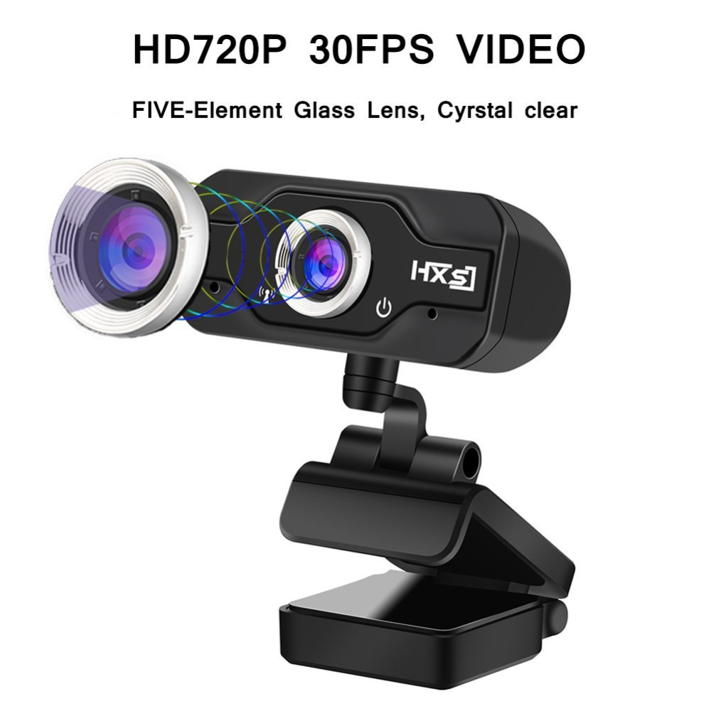Image 2 - HXSJ S50 USB Web Camera 720P HD 1MP Computer Camera Webcams w/ Built in Sound absorbing Microphone 1280 * 720 Dynamic Resolution-in Webcams from Computer & Office