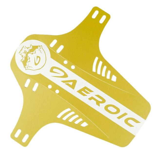yellow bike mudguard