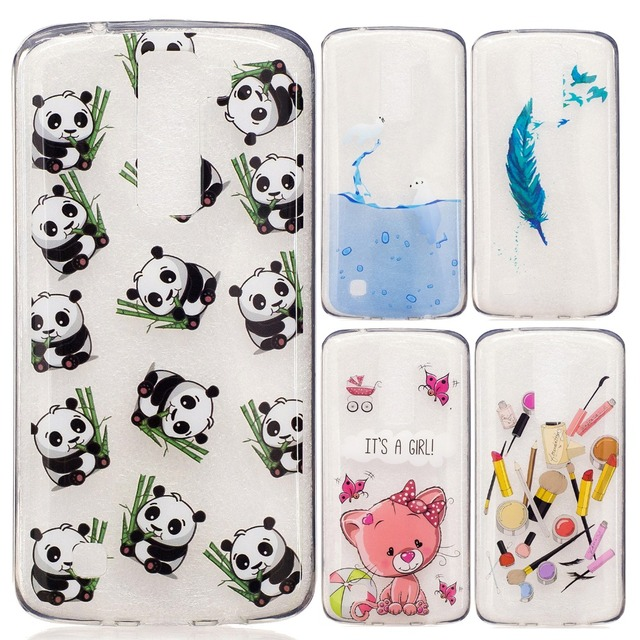 US $2 99 |Icecream Panda Pineapple Cat Feather Seal Lipstick Girl Painted  Silicon TPU Soft Cover Case for Motorola G4 Play Moto G 4 Cases on