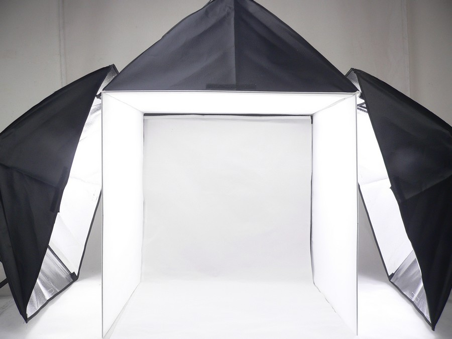 Adearstudio 3 lamp studior set 60cm 3 softbox light soft Portable 50cm font b Camera b