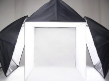 Adearstudio 3 lamp studior set 60cm 3 softbox light soft Portable 50cm Camera Photo Studio Tent Kit Lighting  CD50