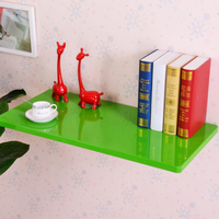 Sale Green Wall Mount Floating Folding Computer Desk Home Office PC Table