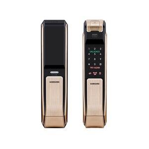 Image 2 - SAMSUNG Fingerprint Digital Door Locks Push Pull Keyless Fingerprint  SHS P718 ENGLISH Version Big Mortise AML320