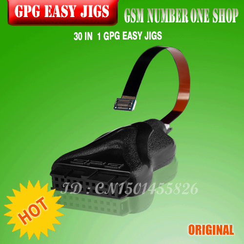 bilder für 100% ursprüngliche neue 33 IN 1 GPG EINFACH JIGS JPIN 33IN 1 Für Riff box, GPG Jtag Box