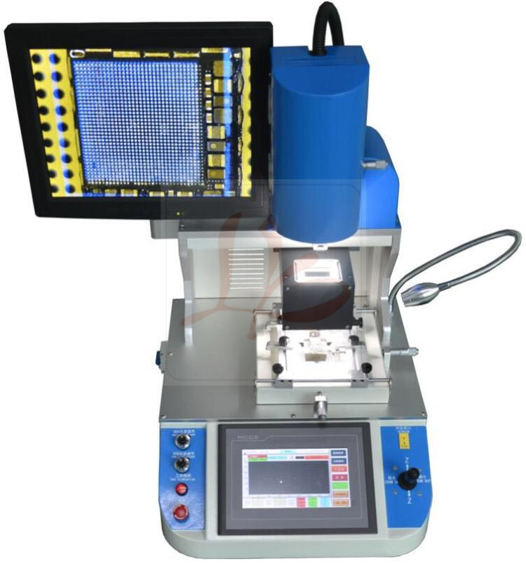 BGA reballing machine ly 5300 Hot Air BGA rework station with auto optical alignment system to Russia free tax
