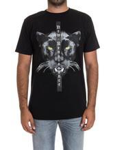 Marcelo Burlon Magliette Uomini Donne 1 1 3D Lupo animale Stampa MB Panther  testa T-Shirt Hip Hop Style abbigliamento Camisetas . edb3f23ebb27