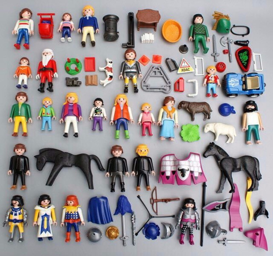 1Pack Playmobil Set Toy Cartoon Kids Children'S Birthday