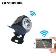 лучшая цена FANSICOUK Mini WiFi Car Camera 1080P Waterproof 120 Wide Angle Rear View Vehicle Reverse Camera Night Vision Parking Dash Cam